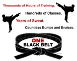 Martial Arts Karate Black Belt