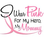 I Wear Pink Ribbon My Mommy Mother