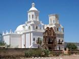 San Xavier Mission White Dove Desert