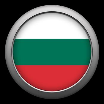 Round Flag - Bulgaria