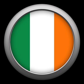 Round Flag - Ireland