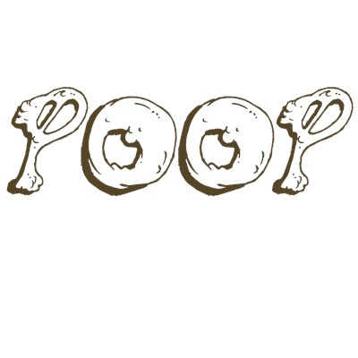 POOP funny t shirt design from BurnTees