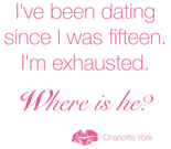 Sex and the City Charlotte Quote