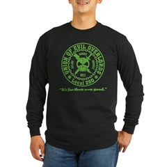 'Tude: Black Long Sleeve Dark T-Shirt