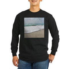 Blue Long Sleeve Dark T-Shirt