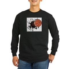 Basketball122 Long Sleeve Dark T-Shirt