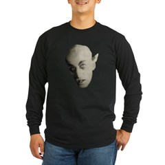 Nosferatu Black Long Sleeve Dark T-Shirt