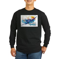 CORSAIR ON FINAL Long Sleeve Dark T-Shirt
