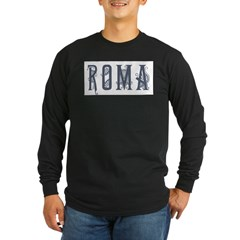 Roma 2 Long Sleeve Dark T-Shirt