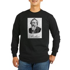 Brahms Long Sleeve Dark T-Shirt
