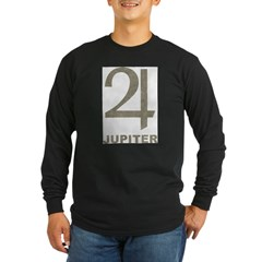 Vintage Jupiter Long Sleeve Dark T-Shirt