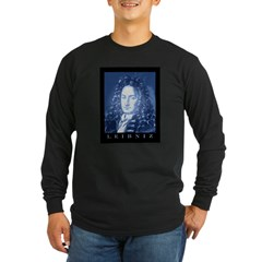 Leibniz Long Sleeve Dark T-Shirt