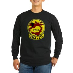 VMA 211 Avengers Long Sleeve Dark T-Shirt