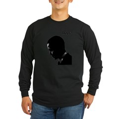 Barack Obama Hope Long Sleeve Dark T-Shirt