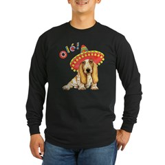 Fiesta Basse Long Sleeve Dark T-Shirt