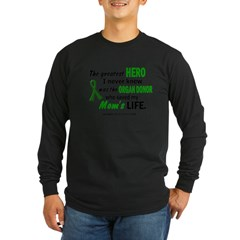 Hero I Never Knew 1 (Mom) Long Sleeve Dark T-Shirt