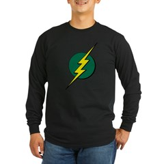 Jamaican Bolt 1 Long Sleeve Dark T-Shirt