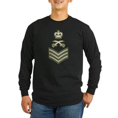 Staff Sergeant PTI 5 Long Sleeve Dark T-Shirt