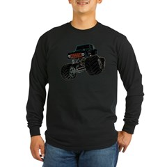 Monster Crawler II Long Sleeve Dark T-Shirt