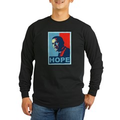 Obama2 Long Sleeve Dark T-Shirt