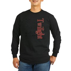 Movie Twilight Quotes Gifts Long Sleeve Dark T-Shirt