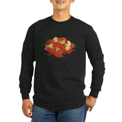 Crawfish Season Long Sleeve Dark T-Shirt