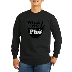 2-whatthepho.gif Long Sleeve Dark T-Shirt