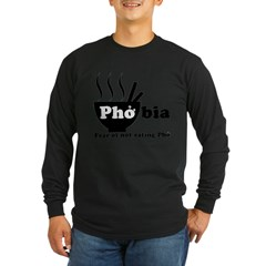 phobia.gif Long Sleeve Dark T-Shirt