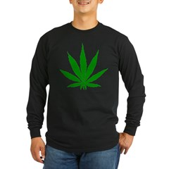 SWEET LEAF Long Sleeve Dark T-Shirt