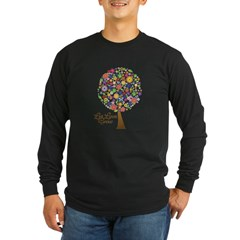 let-love-grow Long Sleeve Dark T-Shirt