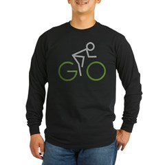 2-GO Long Sleeve Dark T-Shirt
