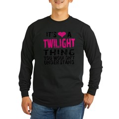 Twilight Thing v2 Long Sleeve Dark T-Shirt