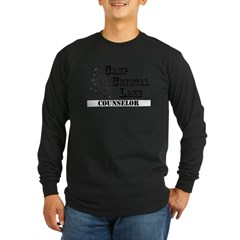 Camp Crystal Lake Counselor - Long Sleeve Dark T-Shirt