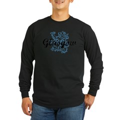 Glasgow Scotland Long Sleeve Dark T-Shirt