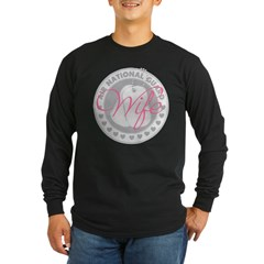 ANG Wife Long Sleeve Dark T-Shirt