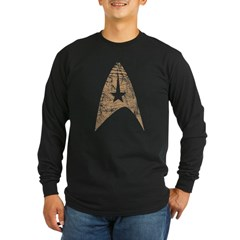 Star Trek Long Sleeve Dark T-Shirt
