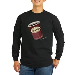 Give Me My Timmies Long Sleeve Dark T-Shirt