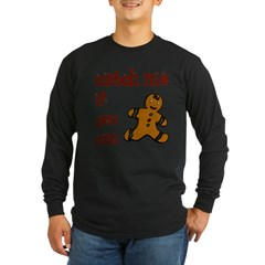 Catch Me - Long Sleeve Dark T-Shirt