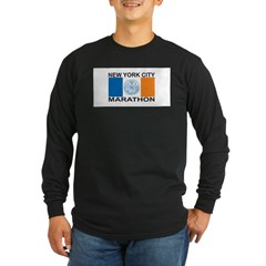 New York City Marathon Long Sleeve Dark T-Shirt