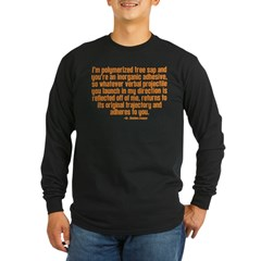 The Big Bang Theory Long Sleeve Dark T-Shirt