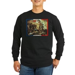 Bastille Day Long Sleeve Dark T-Shirt
