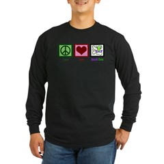 Mardi Gras Long Sleeve Dark T-Shirt