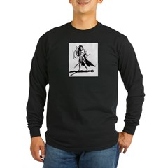 Spartan Long Sleeve Dark T-Shirt