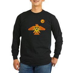 Anishinaabe tribal symbol Long Sleeve Dark T-Shirt