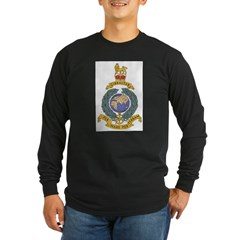 Royal Marines Long Sleeve Dark T-Shirt