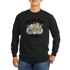 Oktoberfest oom-pah Band Groupie Long Sleeve Dark T-Shirt