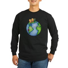 99% #OccupyTogether - Long Sleeve Dark T-Shirt