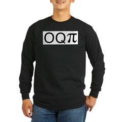 Occupy (o q pi) Long Sleeve Dark T-Shirt