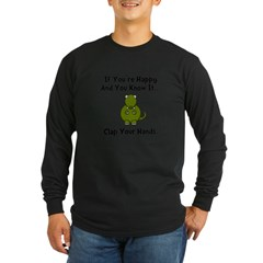 TRex Cla Long Sleeve Dark T-Shirt