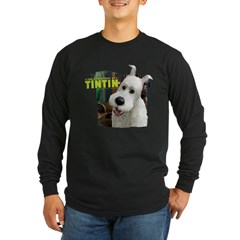 Snowy Long Sleeve Dark T-Shirt